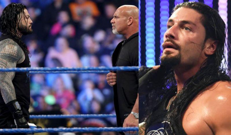 WrestleMania में पहली बार होगा गोल्डबर्ग और रोमन रेंस का मुकाबला