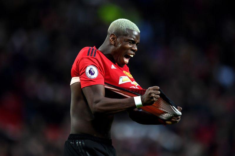 Pogba on his debut