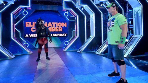 The Fiend versus John Cena. Who wins?