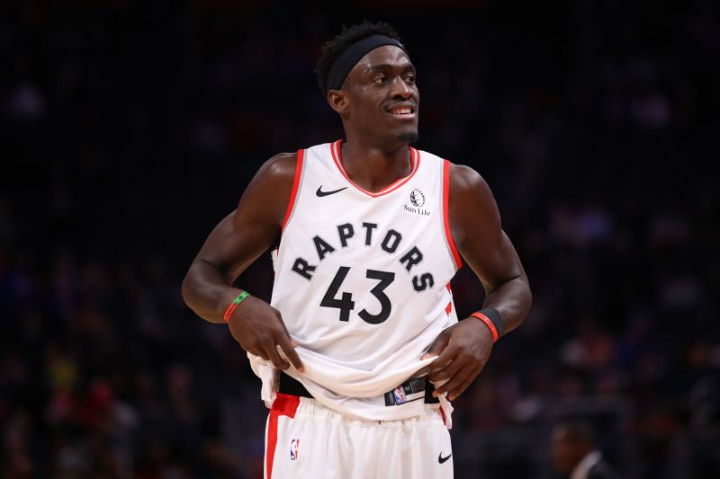 Pascal Siakam was the 27th overall pick of the 2016 draft