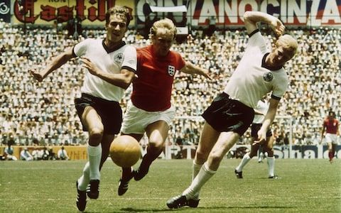 The 1970 World Cup saw England eliminated by their old rivals Germany