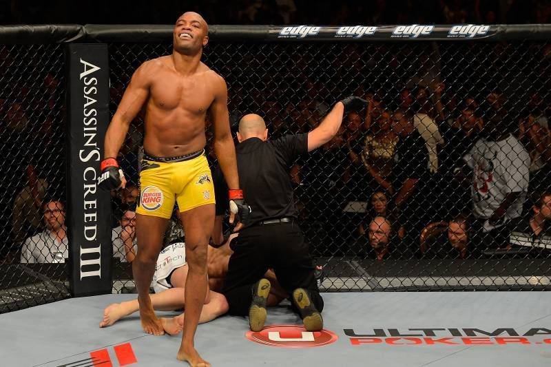 Anderson Silva headlined the UFC