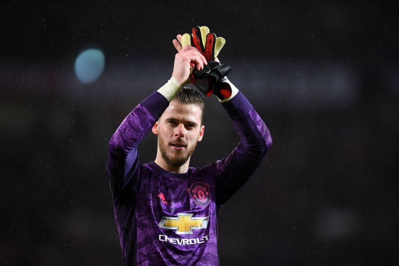David de Gea always appears to be Manchester United