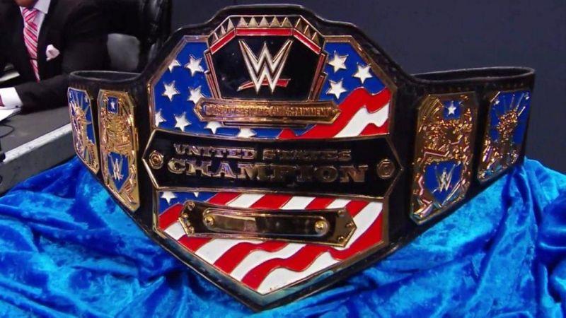 The US Championship belt