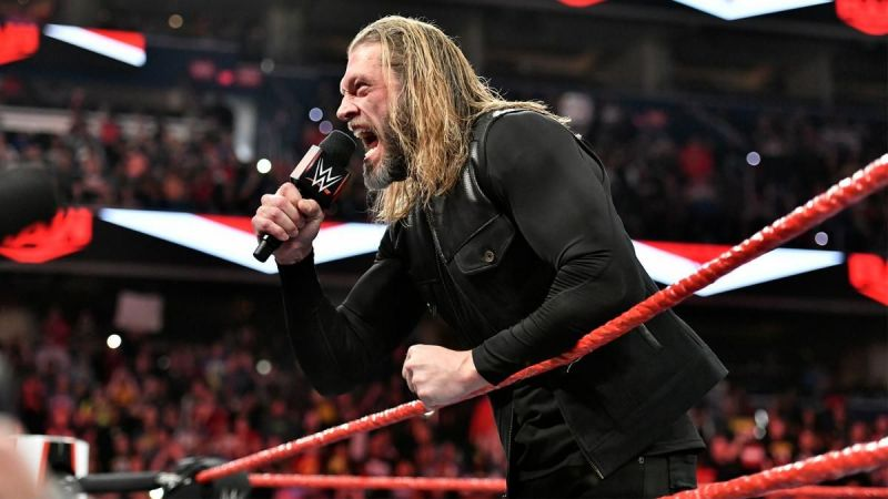 Edge made his return to WWE and it was awesome