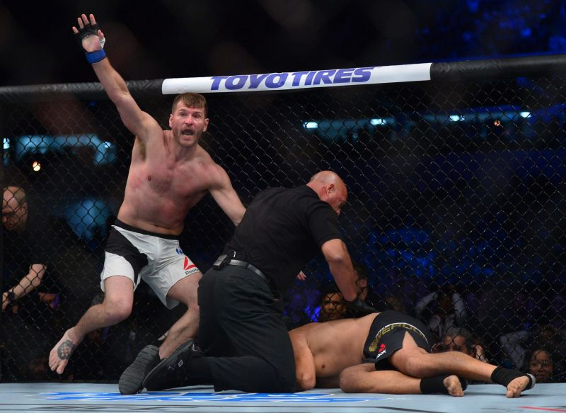 Stipe Miocic surprised himself when he knocked out Fabricio Werdum to claim UFC gold in Brazil