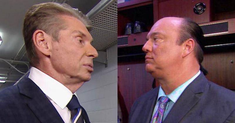 Vince McMahon and Paul Heyman