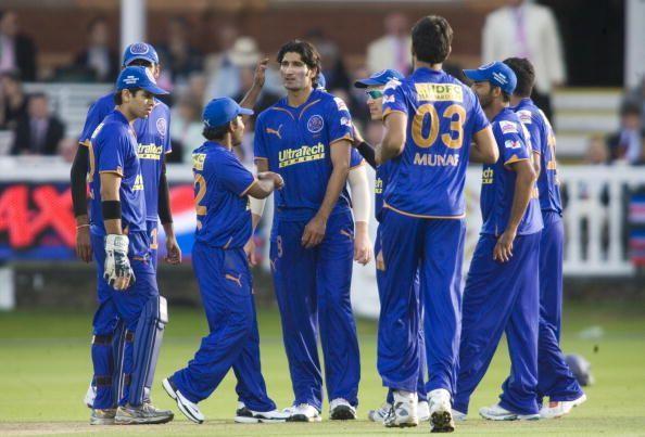 आईपीएल का पहला सीजन जीतने वाली राजस्थान रॉयल्स