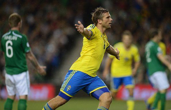 Midfielder Anders Svensson remains Sweden