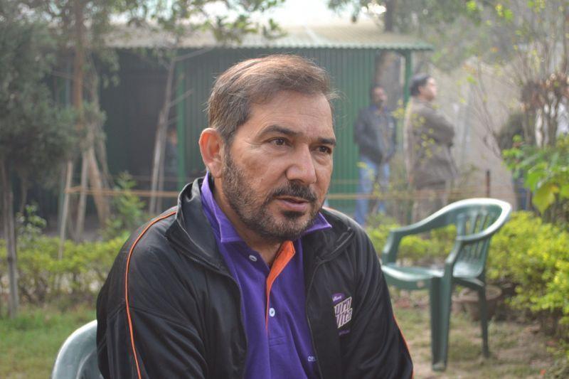 Arun Lal lashed out at the pitch at Rajkot