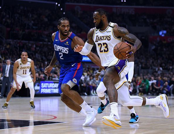 The battle of LA is likely to decide the Western Conference