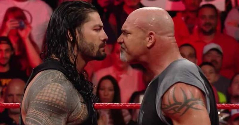 Reigns or Goldberg - who delivers a better Spear?