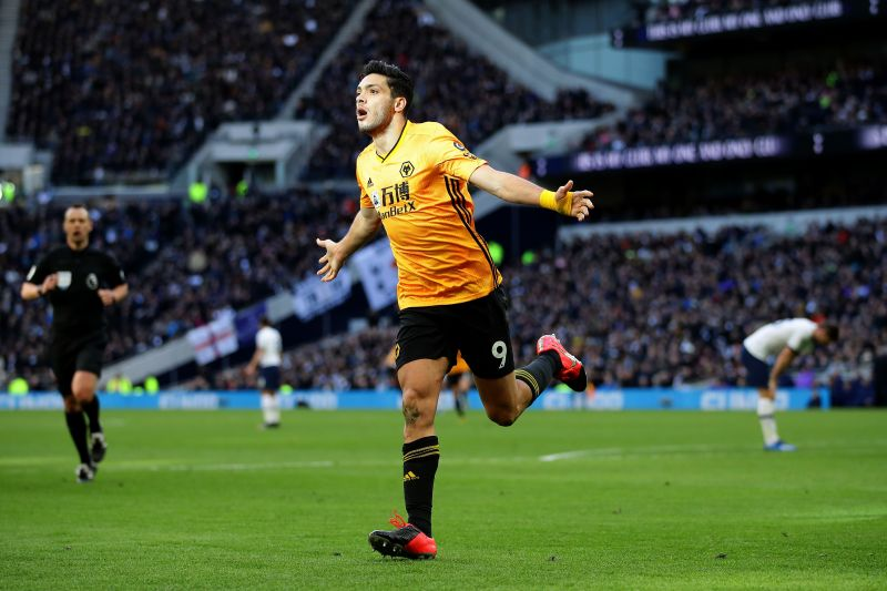 Star striker Raul Jimenez is in fine form