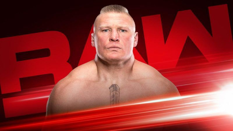 Brock Lesnar is scheduled to show up on RAW again