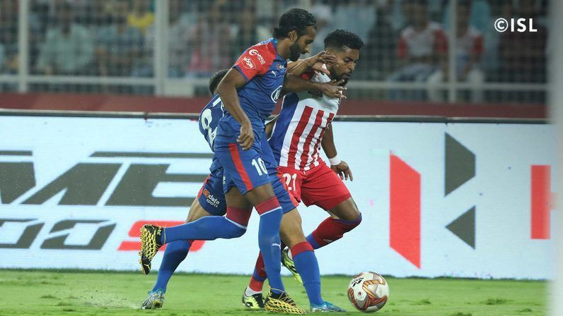 ATK and BFC produced an entertaining first half (Image: ISL)