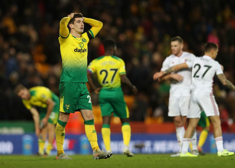 Norwich City take on Sheffield United at Bramall Lane in the Premier League