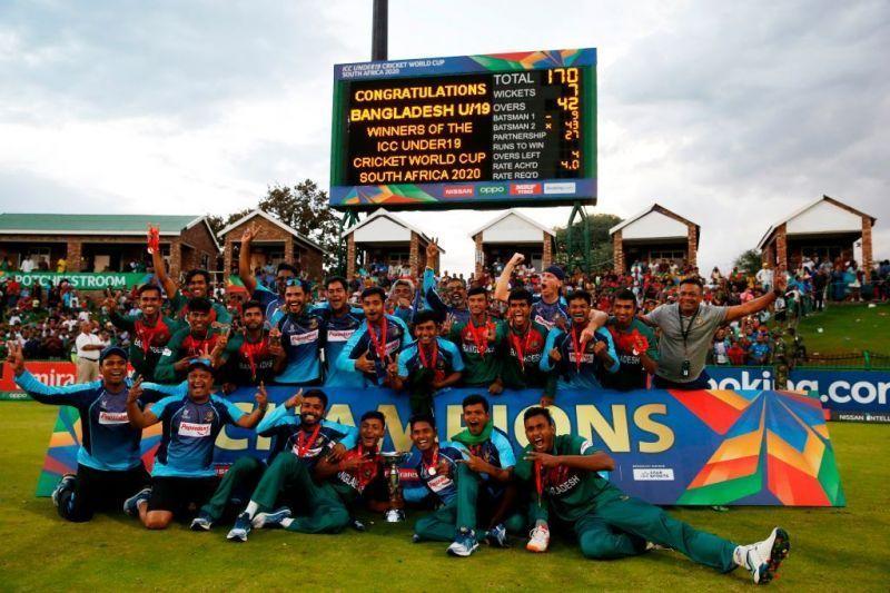 Bangladesh created history by winning their first U19 World Cup.