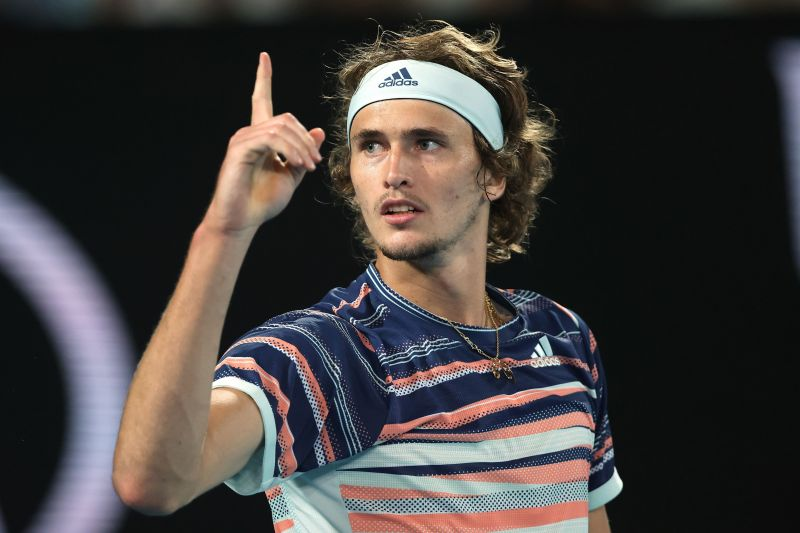 Alexander Zverev is currently ranked seventh in the world