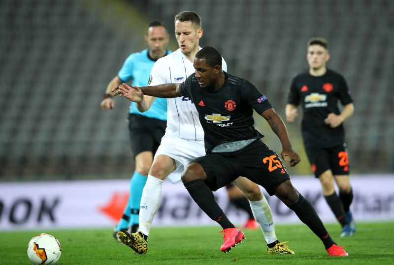 Manchester United established a thumping 5-0 victory over LASK on Thursday