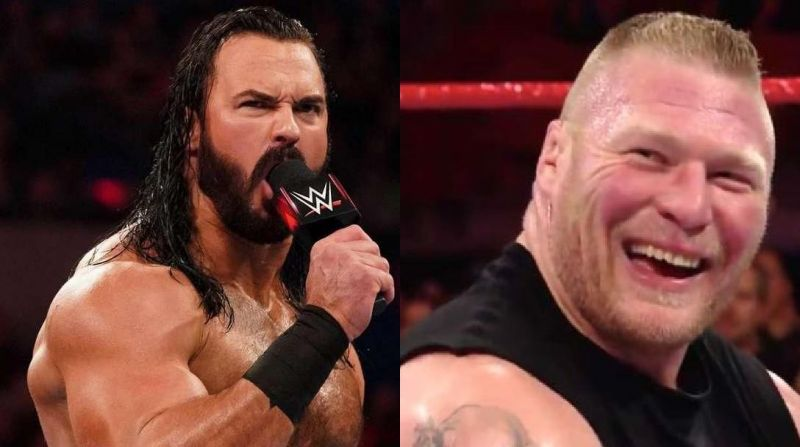 McIntyre and Lesnar