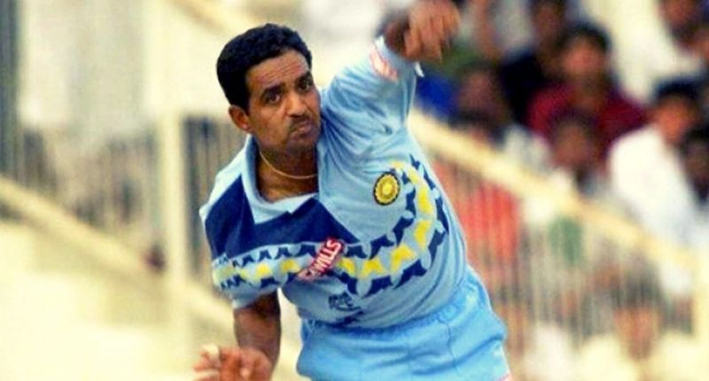 Sunil Joshi - A left-arm spinner and a handy lower-order batsman