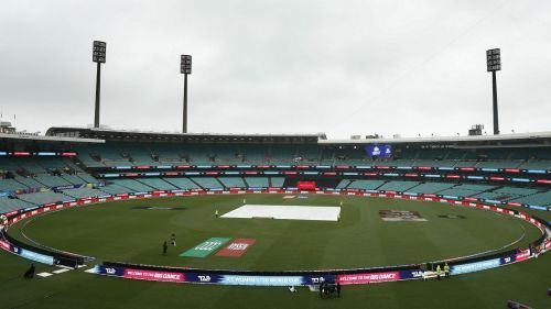 The semi-final clash between India and England was called off due to rain.