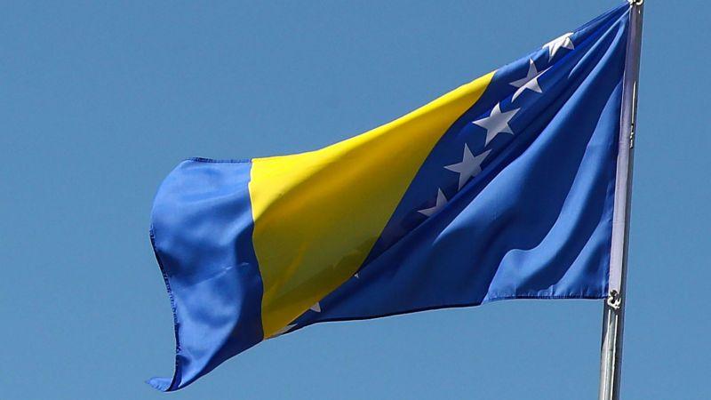 Bosnia Herzegovina flag - cropped