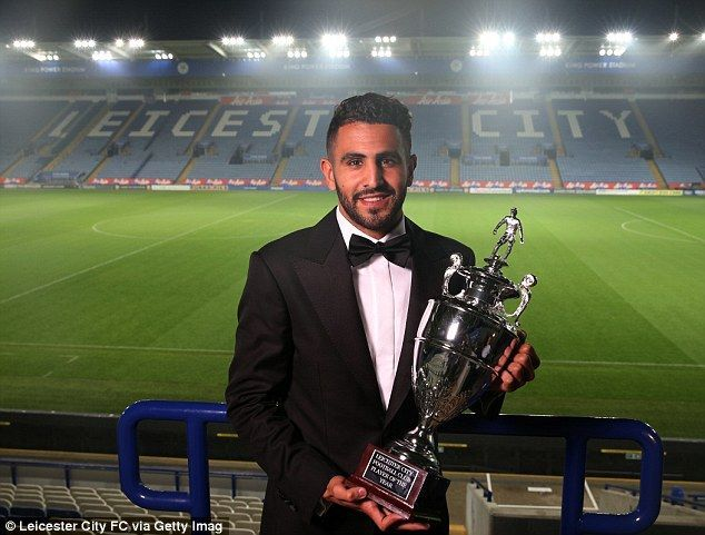 Riyad Mahrez clinched PFA Player of the year honor