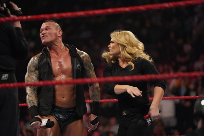 The Glamazon sent a very clear message to Randy Orton
