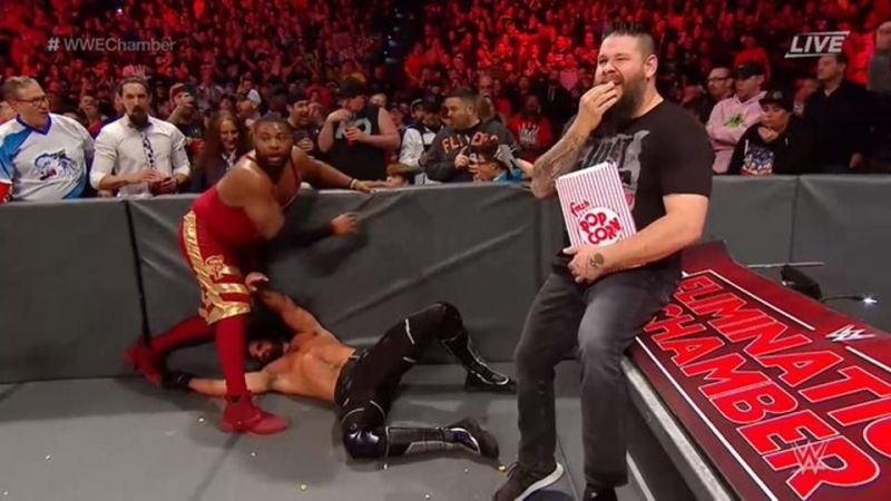 Kevin Owens will finally get his hands on Seth Rollins at WrestleMania