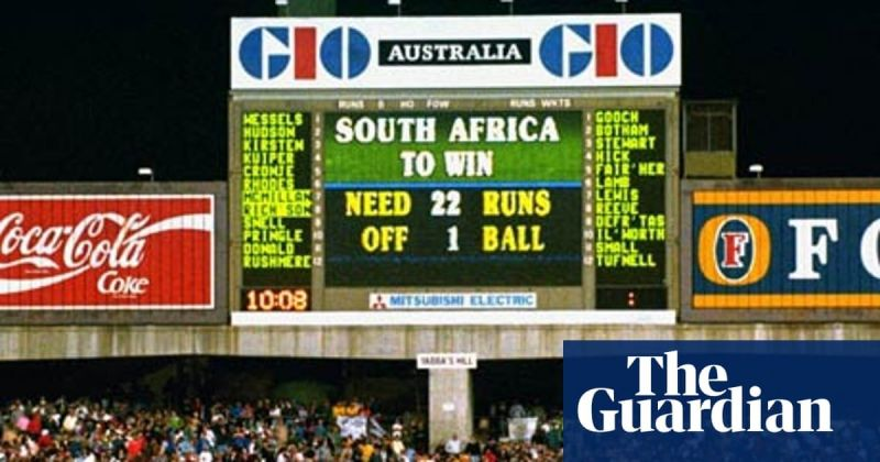 South African hearts were broken by the rain-rule knocking the Proteas out of the World Cup