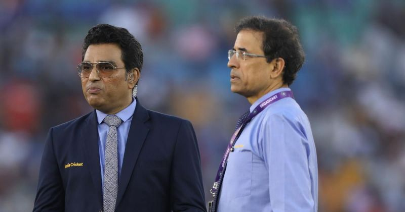 Sanjay Manjrekar (L) has been in the news recently