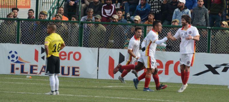 East Bengal beat Real Kashmir 1-0 in Srinagar on Monday