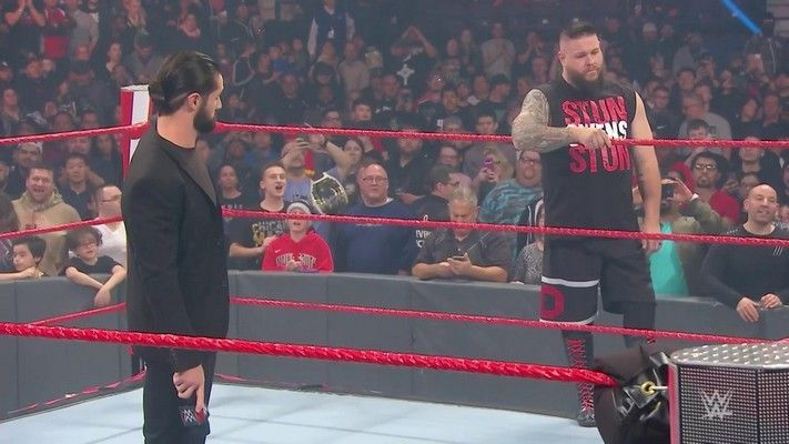 KO and Rollins have been in a feud for so
