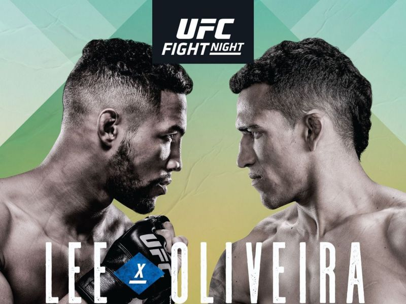 Kevin Lee faces Charles Oliveira in Brazil this weekend