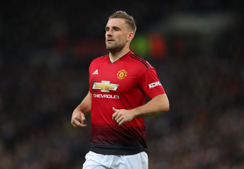 Luke Shaw often found himself under fire from Mourinho