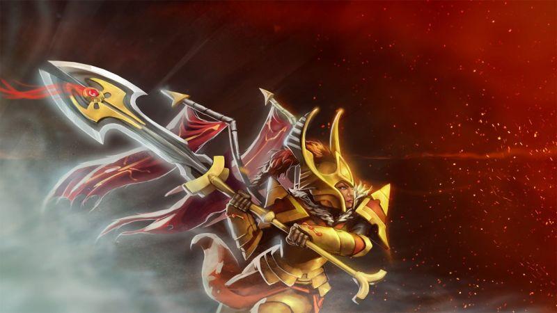 Dota 2 hero Legion Commander