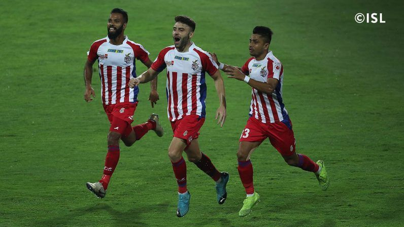 ATK scraped past Chennaiyin FC in the final