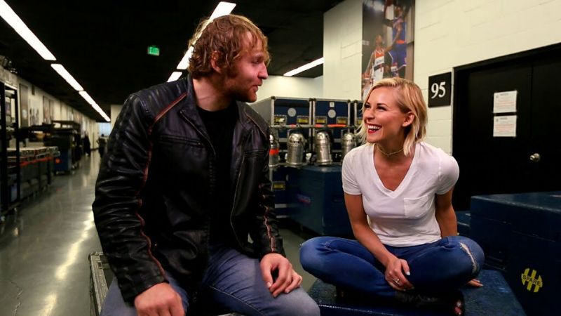 Jon Moxley married Renee Young in April 2017