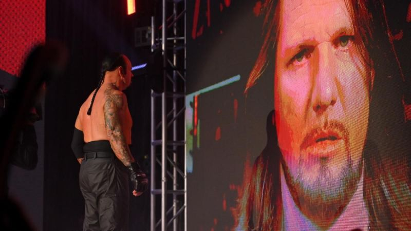 The Undertaker and AJ Styles.