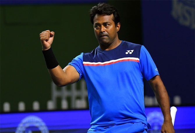 Leander Paes stunned the mighty Goran Ivanisevic