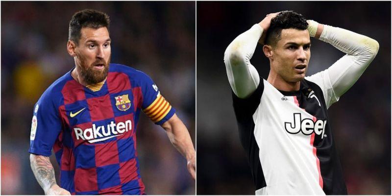 Messi and Ronaldo.