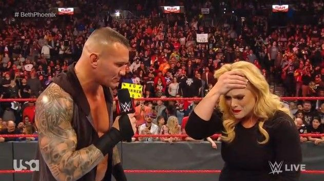Randy Orton attacked Beth Pheonix in an amazing segment to end the show!