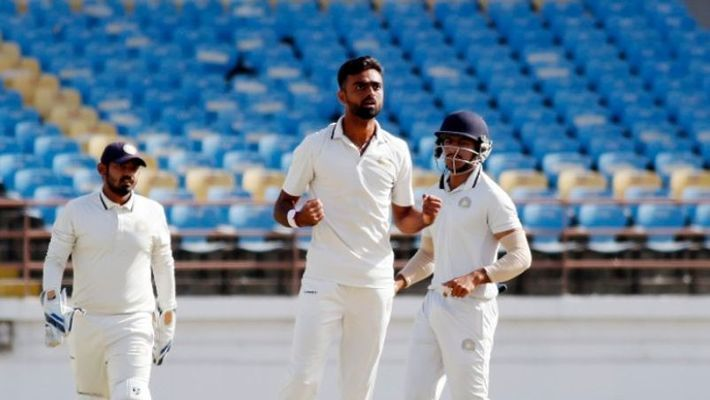 Jaydev Unadkat troubled the batsmen with his left-arm pace in Ranji Trophy 2019-20 (Image courtesy: PTI)