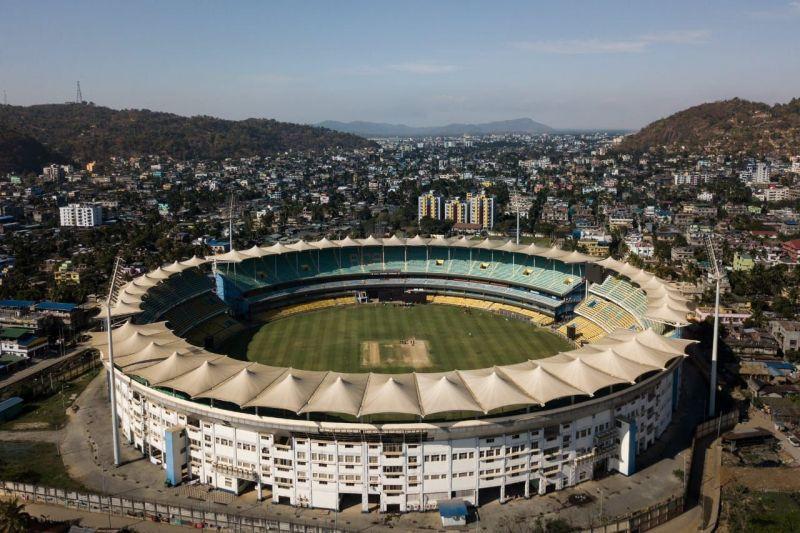 Barsapara Stadium in Assam