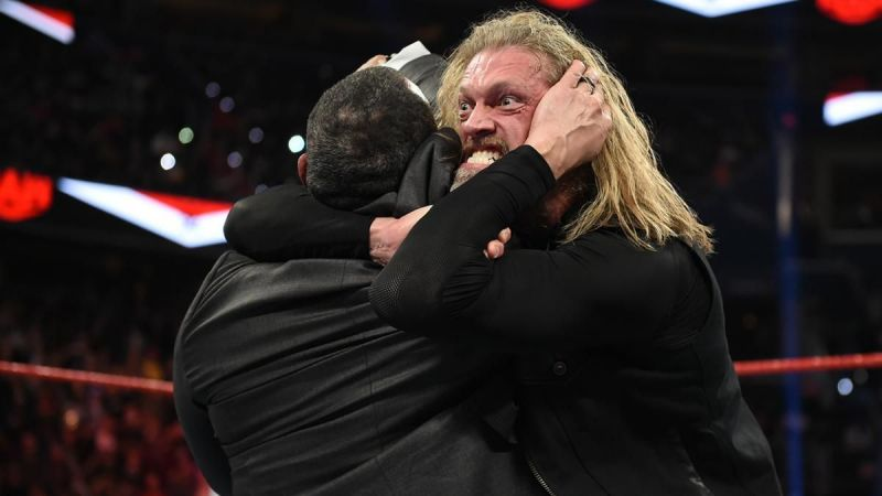 Edge came back with a vengeance
