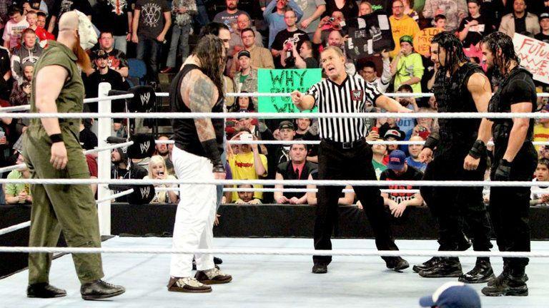 Shield vs Wyatt Family