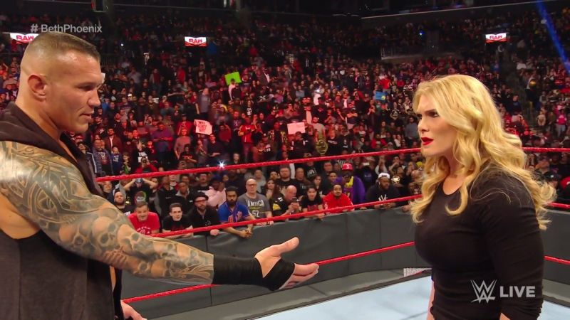 Randy Orton crossed the limit on RAW