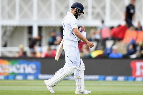Virat Kohli was all at sea in the Test series against the Kiwis.