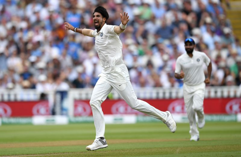 Ishant Sharma picked up five wickets in the Wellington Test